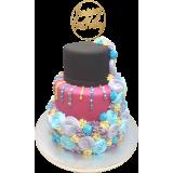 Торта с цветя 6