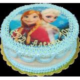 Торта с фотодекорация